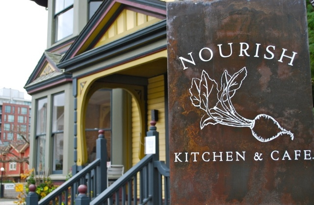 Nourish in the Harbour is in an 1889 character house on Quebec Street.