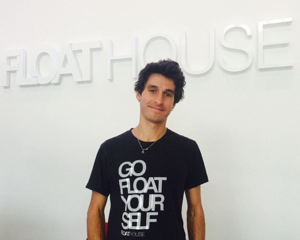 Erik Karemba opened Float House Victoria in May 2014 after going to try his cousins' float tanks in Vancouver.