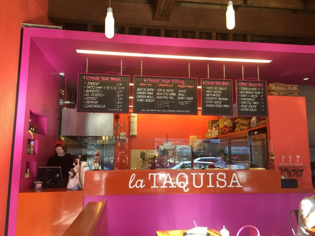 La Taquisa is the best Victoria taco option when it comes to seating, with ample indoor seating and a sweet patio out back.