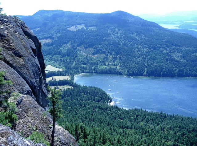 The view from Mount Maxwell is prettty nice. Photo: Herb Neufeld via Flickr.