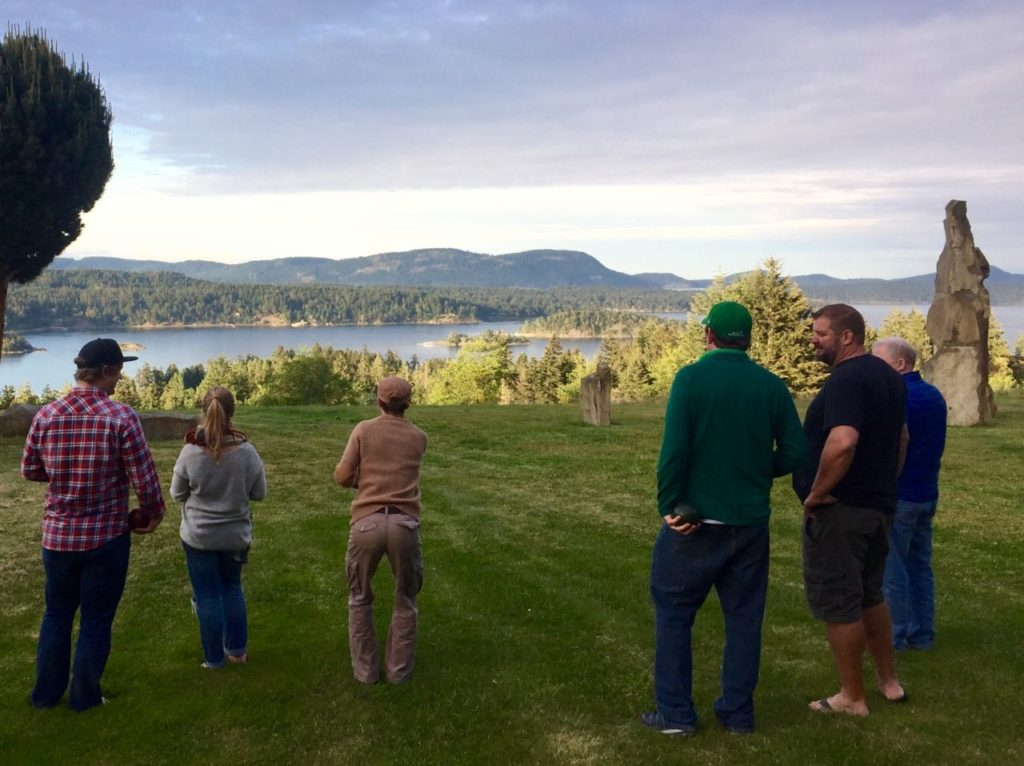 It's worth staying at Stonehouse B&B for the bocce views alone.