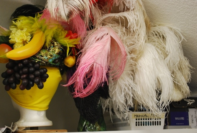Costume Loft hats and feathers