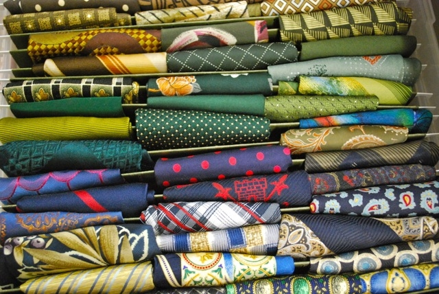 Costume Loft colourful neckties